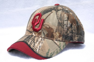 University of Oklahoma Iceberg Camo Hat-Cap-Lid